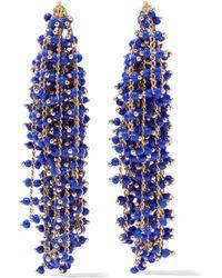 Elizabeth and James - Gold-tone Bead Earrings - Lyst