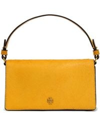 Tory Burch - Cleo Embellished Calf Hair And Suede Shoulder Bag - Lyst