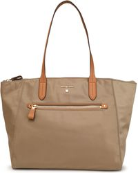MICHAEL Michael Kors - Leather-trimmed Shell Tote - Lyst