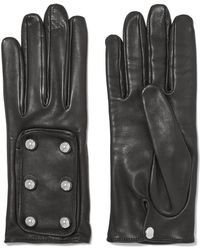 Causse Gantier - Embellished Leather Gloves - Lyst