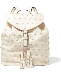 RED Valentino - Embellished Leather Backpack - Lyst
