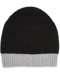 Duffy - Ribbed Wool-blend Beanie - Lyst
