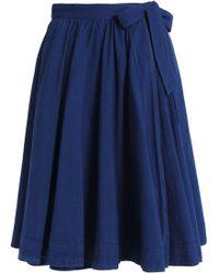 Orlebar Brown - Cotton-chambray Skirt - Lyst