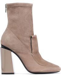 Sigerson Morrison - Suede Ankle Boots - Lyst