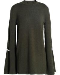 Mother Of Pearl - Knitted Sweater Army Green - Lyst