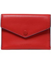 Sandro - Leather Cardholder - Lyst