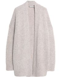 Vince - Wool, Cashmere And Silk-blend Cardigan - Lyst