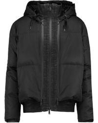 DKNY - Shell Hooded Coat - Lyst