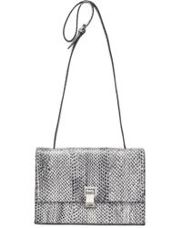 Proenza Schouler - The Lunch Bag Elaphe Clutch - Lyst