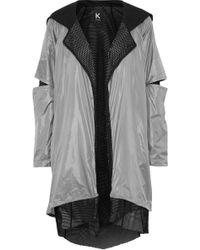 Koral - Billboard Layered Shell And Mesh Hooded Jacket - Lyst