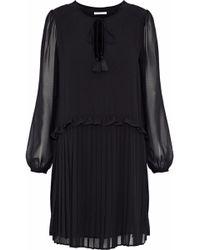 Rebecca Minkoff - Morrison Pleated Chiffon Mini Dress - Lyst