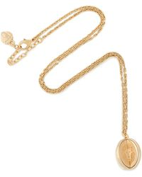Versus - Gold-tone Necklace - Lyst
