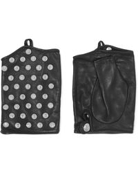 Causse Gantier - Studded Leather Gloves - Lyst