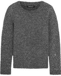 DKNY - Mélange Sweater - Lyst