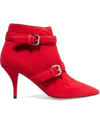 Tabitha Simmons | Fitz Suede Ankle Boots | Lyst