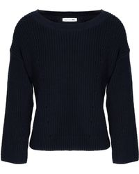 Rag & Bone - Ribbed Cotton Sweater - Lyst