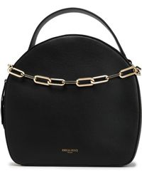 Emilio Pucci - Chain-trimmed Leather Tote - Lyst