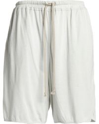 Rick Owens Lilies - Jersey Shorts - Lyst