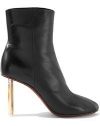 Vetements - Leather Ankle Boots - Lyst