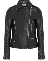 Muubaa - Leather Biker Jacket - Lyst