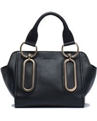 See By Chloé - Textured-leather Shoulder Bag - Lyst