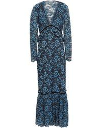 d415e34d Women's Ganni Maxi and long dresses Online Sale - Lyst