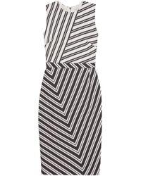 Altuzarra - Desdemona Striped Wool-blend Dress - Lyst