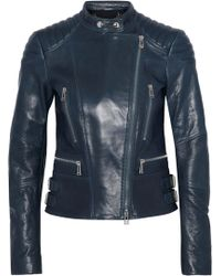 Belstaff - Sydney Leather Biker Jacket - Lyst