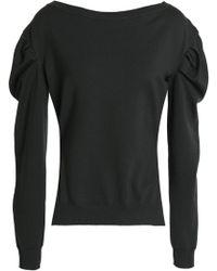 Nina Ricci - Gathered Wool Sweater - Lyst