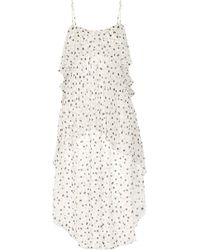 Maiyet | Fluid Wave Printed Silk-crepon Midi Dress | Lyst