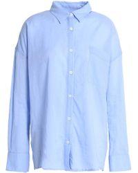 Line - Cotton Shirt - Lyst
