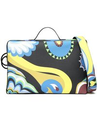 Emilio Pucci - Printed Leather Suitcase - Lyst