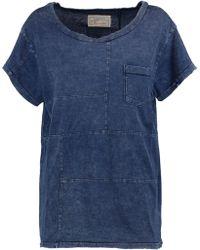 Current/Elliott - The Seamed Pocket T-shirt - Lyst