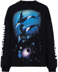 Opening Ceremony - Printed French Cotton-terry Sweatshirt - Lyst