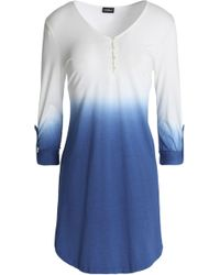 Cosabella - Dégradé Cotton And Modal-blend Pyjama Top - Lyst