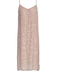 Velvet By Graham & Spencer - Sequined Woven Dress - Lyst
