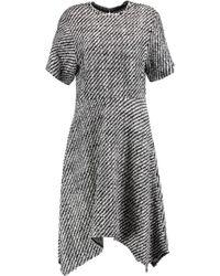 Isabel Marant - Ines Asymmetric Wool-blend Bouclé Dress - Lyst