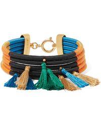 Isabel Marant - Tasseled Cotton Bracelet - Lyst