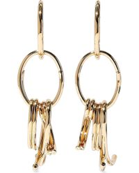 DANNIJO - Sul Gold-plated Earrings - Lyst