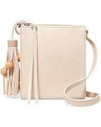 Elizabeth and James - Sara Tasselled Leather Shoulder Bag - Lyst