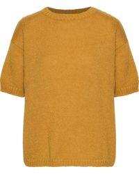Mansur Gavriel Sur Gavriel Mohair-blend Sweater Mustard - Yellow