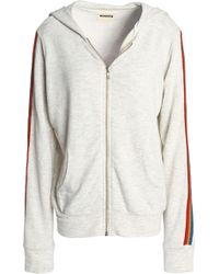 Monrow - Mélange Jersey Hooded Jacket - Lyst
