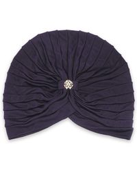 Roberto Cavalli - Ruched Jersey Turban - Lyst