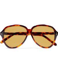 Acne Studios - Charge Aviator-style Acetate Sunglasses - Lyst