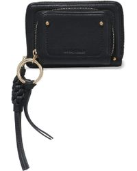 See By Chloé - Textured-leather Wallet - Lyst