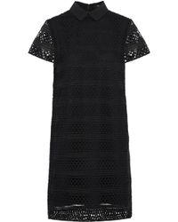 Raoul - Guipure Lace Shirt Dress - Lyst