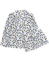 c094ee111c Lyst - Equipment Lillian Leopard-print Washed-silk Pajama Set in Black