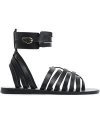 Ancient Greek Sandals - Metallic Leather Sandals - Lyst
