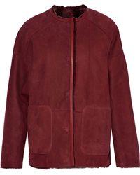 Yves Salomon - Reversible Shearling Jacket - Lyst