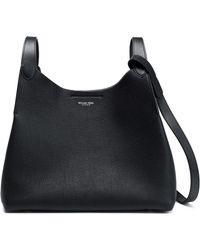 Michael Kors - Textured-leather Shoulder Bag - Lyst
